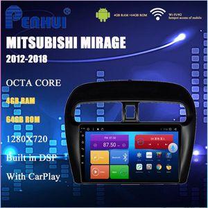DVD de voiture Android pour Mitsubishi Lancer (2000-2006) Radio-Vidéo Video Player Navigation GPS Android 10.0 Double Din
