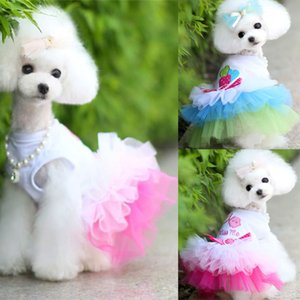 Dog Clothes for Small Dogs Dress Sweety Princess Dress That All Seasons Puppy Lace Princess Apparel Chihuahua Dog
