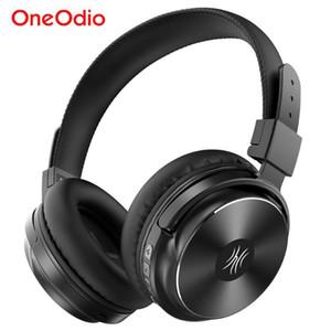 Oneodio A11 беспроводные наушники Bluetooth гарнитура 5,0 Over Ear Stereo Super Bass Наушники с микрофоном для телефона TV ПК Спорт