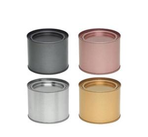 Чай могут банка CONT BAR COMESTECT COMESTARES CONSTAMES PORTABLE Уплотнительное Металлическое Чай CAN CANS TINLATE Круглый Свеча Домашняя Кухня Хранение Can SN3548