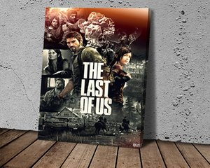 Sony The Last of Us Series Game Poster HD Canvas Print Home Decoration Living Room Bedroom Wall Stickers Art Picture HD Canvas