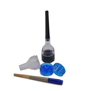 Acrylic Manual Crush Herb Grinder Hand Roll Cigarette Grinding Instrument 30 Millimeter Diameter Smoke Crusher New Arrival 3 5gl L2