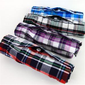 M-9XL Men's Underwear Loose Leisure Shorts Cotton Comfortable Men Boxer Shorts Fashion Boxers Men Lounge Home Wear Underwears 201023