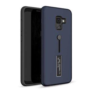 Для Samsung Galaxy J2 Core A6 Plus Hybrid Holder Metal Stand Armor Phone Case Citch App String Finger Cover OPPBAB