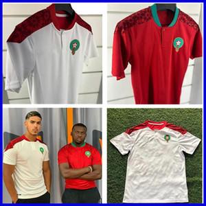 200 2021 Morocco Bennasser soccer jerseys home away 20 21 maillot de foot Ziyech Boufal FAJR Munir Ait Amrabat football shirts