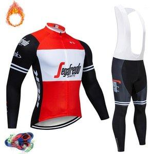 Etixxl 2020 Team Winter Thermique Thermique Jersey Jersey Bike Pantalon Set Ropa Ciclismo 9D Cyclisme Maillot Culotte Port1