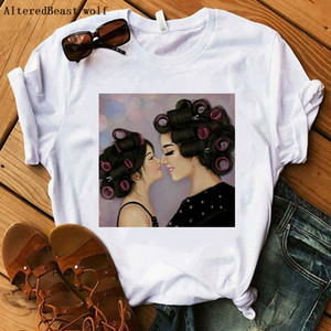 Fashion Mom T-Shirt Women Casual Short Sleeve Print Cute Mama T-shirt Female Harajuku Plus Size Tops Graphic Tees Clothes