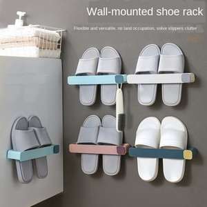 New hot style on sale Shoe Rack Punch-Free Wall-Mounted Space-Saving Storage Toilet Hook 4 Pieces Free Shipping