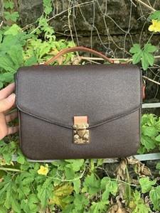 2021 Luxurys Tasarımcılar Çanta Kadın Çanta Messenger Çanta Oksitleyici Deri Pochette Metis Zarif Omuz Çantaları Crossbody Alışveriş Çantaları Tote