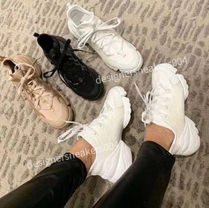Classic Genuine Leather Women Arena Flats Sneakers Male High Top Shoes men Fashion Casual Lace Up Shoes bn190519