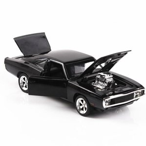 1 32 Diecasts & Toy Vehicles fast and the Furious Dodge Model With Sound&Light Collection Car Toys For Boy Children Gift