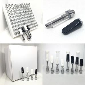 th205 Empty Vape Pen Cartridges 1ml 0.5ml Ceramic coil atomizer 510 Dab Pen Thick Oil Wax Carts Vaporizer ship in 2 day