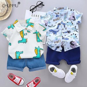 Summer Baby Boy's Suit Baby Clothing Set for Boys Casual Clothes Set Top Shorts Infant Sport Suits Kids Clothes Q1203