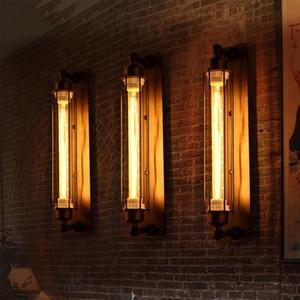 Industrial vintage wall lamp bra bedroom corridor bar aisle warehouse restaurant pub cafe light loft wall sconce Edison light