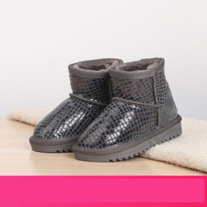 Childrens Snow Boots Autumn Winter Slip-On Boots Girls Fashion Sequined Boot Kids Trendy Princess Boot New Arrival Flat Shoes Hot Sale