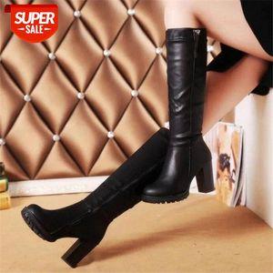 Botas de mujer de Nueva Diseñador Laikihan en el grueso con las botas para mujer zapatos tobillo para las mujeres invierno # DC1V