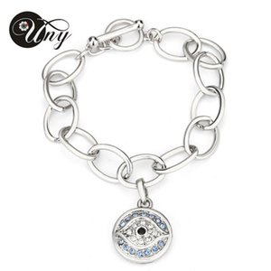 UNY Charms Bracelets Evil Eye Bracelet Women Men Jewelry Crystal Bracelets Antique Vintage Luxury Christmas Gift
