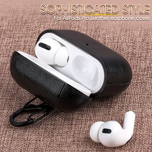 Leather Case For Airpods Pro Earphone Case Air Pods Pro Protective Cover for Air pods 3 Headphone Case Charging Box Accessories