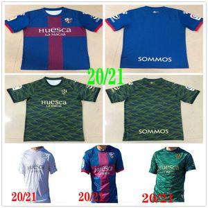 2020 2021 SD Huesca Soccer Jerseys Cristo Okazaki Sergio Sergio Gómez J.Pulido Insua Okazaki Javi مخصص 20 21 الصفحة الرئيسية قمصان كرة القدم