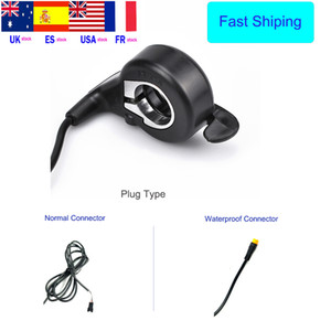 Bicicleta Eletrica Ebike Accelerator Thumb Throttle for Electric Bike Accessories Electric Scooter Conversion Kit Speed Control