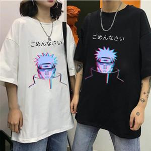 Mens Tshirt Unisex Naruto Pain Uchiha Madara Cool Short Sleeve T Shirt Japanese Anime Funny Printed Harajuku Streetwear T-shirt