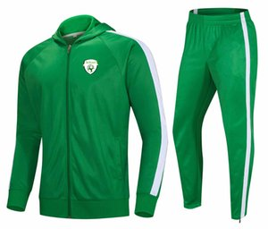 20-21 Republic of Ireland Men's football tracksuit jacket top outdoor training sportswear Adult Jogging wear adult kids soccer suits