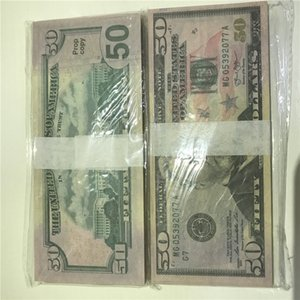High Pieces package Props 100 Dollar 50-2 Currency Wholesale Atmosphere American Quality Paper Fast Money Bar Shipping Btqr Hhfcl