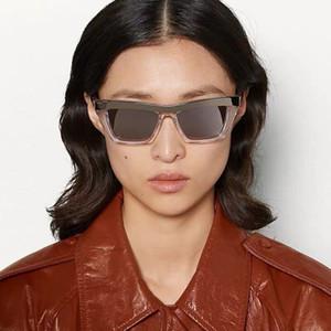 Hot sale Brand Designer Transparent cat eye frame women sunglasses, fashion women eyewear clear side gold lens with original box