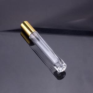 Grosso inferior 10ml metal vazio de vidro de perfume bola bola de bola de esfera de aço frasco atomizadores de perfume garrafas DHD3164