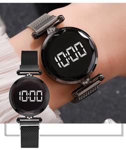Großhandel 30 stücke gemischt farbe mode 32mm x 14mm 43g electronics damen watch frauen kinder schüler uhren casual armbanduhren ch054