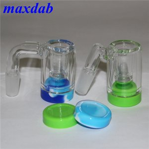 Small oil burner water Rig mini Glass Bongs Glass Bubbler Bong Ash Catcher Smoking Water Pipes Oil Rigs dab rig