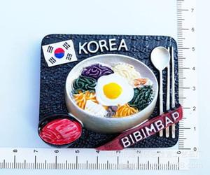 Nevera tradicional Varios Imanes de Corea conmemorativa Turismo Mundial Vestido coreano Seúl Torre Corea Arquitectura Decoración GXH43IK