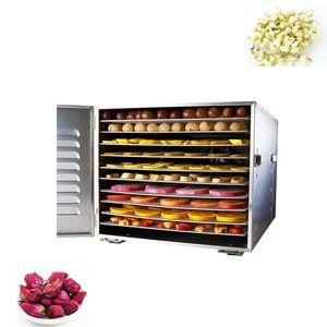 10-слойный автоматический пищевой дегидратор из нержавеющей стали Материал коммерческих бытовых фруктов и овощной сушилки Pet Snack Fruit сушилка