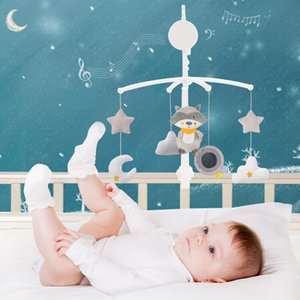 Baby bed bell ringing children 0-1 years old music rotating bedside bell baby comfort cloth toys