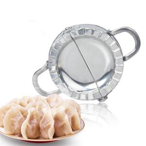New Eco-friendly Pasticceria Strumenti in acciaio inox Dumpling Dumpling Maker Wrapper Pasta Cutter Pie Ravioli Dumpling Stampo Cucina Accessori GWD3501