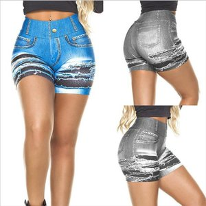 Summer Vintage Faded and Distressed Jean Shorts with Pockets 2020 Plus Size Woman Casual Hole Hot Short Denim S XL