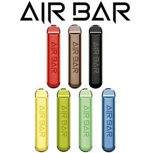 Air Bar Одноразовый POD Устройство 1,8 мл Кит Vape Pen Kit 380 мАч Батарея 500 Загонией Предварительно заполненные пары E CIGS Портативный Системный Стартовый Комплект