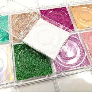 1pc Transparent plastic eyelashes box Private custom your own logo eyelashes box High quality luxury lashes package wholesale
