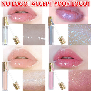 No LOGO!12Colors lip plumper shiny gloss Moisturizing glitter Lipgloss Long lasting Lip Luminizer accept your logo printing