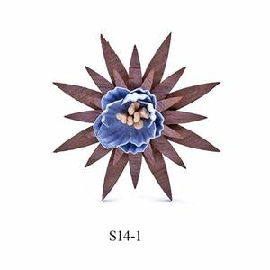 Handmade Wooden Brooch Wedding Lapel Flower Brooches Retro Lapel Pins For Men Suit Men Fashion Wood Decoration For Men Wedding Q sqcfRs