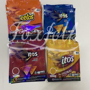 Personalizzato Chipps commestibile mylar confezione cookie acido crawlers bag packaging per formaggio originale gummi odore borse a prova di borse con cerniera chiusura con cerniera.