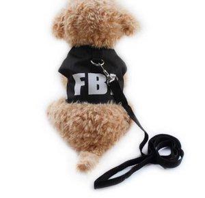 Pet Dog Armi store Black Dog Harness Cloth Chest Strap Vest Harnesses For Dogs 6044010 Pet Leashes Supplies S M L