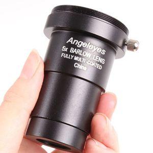 """M42 5x Barlow-Linse Raumteleskop Astronomic Professionelle Spiegel Spektiv Vergrößerung Zubehör Angeleyes 1.25"""""""