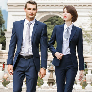 women's suit bank tooling sales 4S shop formal men's suit real estate sales department customized work clothes