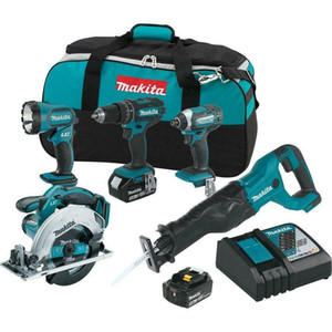 XT505 18-Volt 5-Tool 3.0Ah Lithium-Ion Cordless Power Tool Combo Kit
