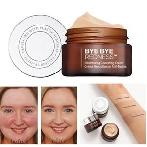 2021 أعلى جودة عالية مستحضرات التجميل وداعا احمرار تحييد تصحيح كريم المكياج قاعدة طويلة الأمد الوجه المخفي شحن مجاني