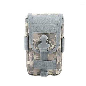 Sacs de ceinture en tissu d'oxford 600D Sac-à-dessus résistant à l'usure imperméable à l'usure Sac de téléphone portable Cartes de téléphonie mobile Porte-accessoires double couche1