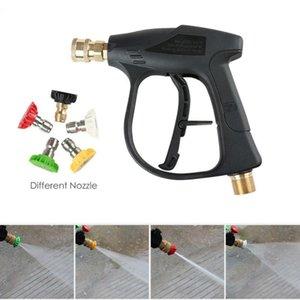 "Pressure Car Washer Water Guns Soap Spray Nozzles 14mm M22 Socket 1 4"" Quick Release Snow Foam Gun Pump Cannon Foamer Lance Jet"