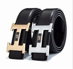 Genuine leather belt for men women Strap male Smooth buckle vintage jeans cowboy Casual designer brand belt Luxury Men Belts u56