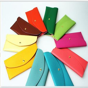 DHL fashion women long design coin purse card bag holder envelope bag Wallets purse evening bag AHC3959